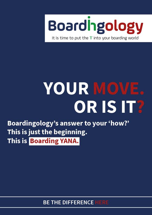 Boarding Yana